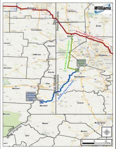 View a map of the Ohio Valley Ethane Pipeline. (Click to view PDF of map)