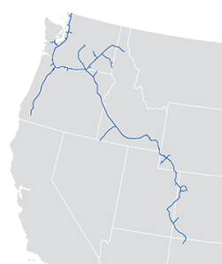 Northwest Pipeline Map