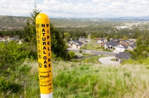 Natural Gas Pipeline Marker