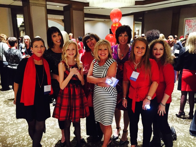 Women of Williams at Go Red 2015